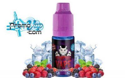 Vampire Vape revue du Heisenberg e-liquide et concentré pour DIY