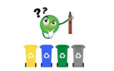 Comment recycler son matériel et flacon de vape ?