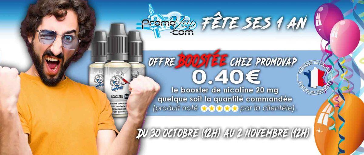 Booster de nicotine 0.40€